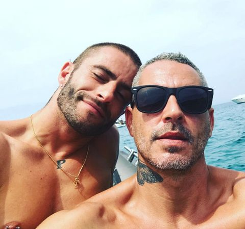 Eyewear, Hair, Barechested, Sunglasses, Facial hair, Cool, Selfie, Vacation, Muscle, Sun tanning,