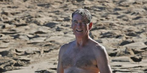 People in nature, Sand, Summer, board short, Barechested, Muscle, Trunks, Chest, Abdomen, Active shorts,