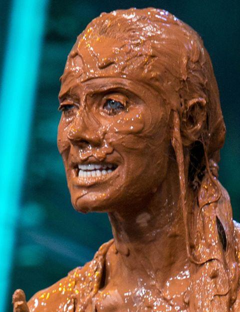Cheek, Brown, Chin, Forehead, Sculpture, Jaw, Muscle, Temple, Art, Tan,