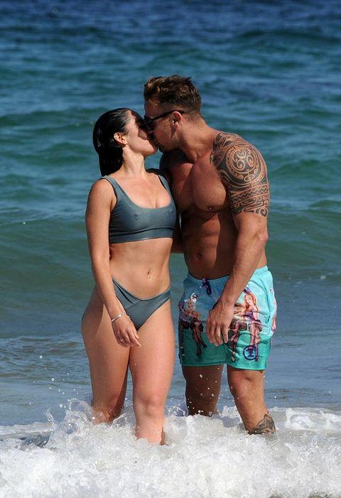 People on beach, Barechested, Vacation, Beach, Bikini, Fun, Swimwear, Muscle, Undergarment, Summer,