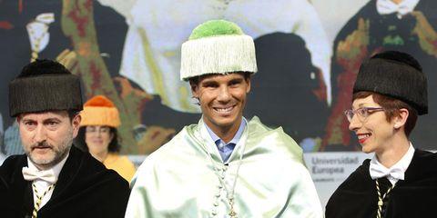 Smile, Collar, Headgear, Costume accessory, Winter, Fashion, Jewellery, Tradition, Costume hat, Laugh,