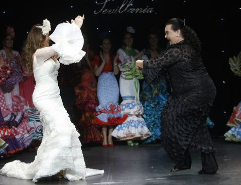 Event, Dress, Entertainment, Performing arts, Fashion, Gown, Bridal clothing, Stage, Tradition, Performance art,