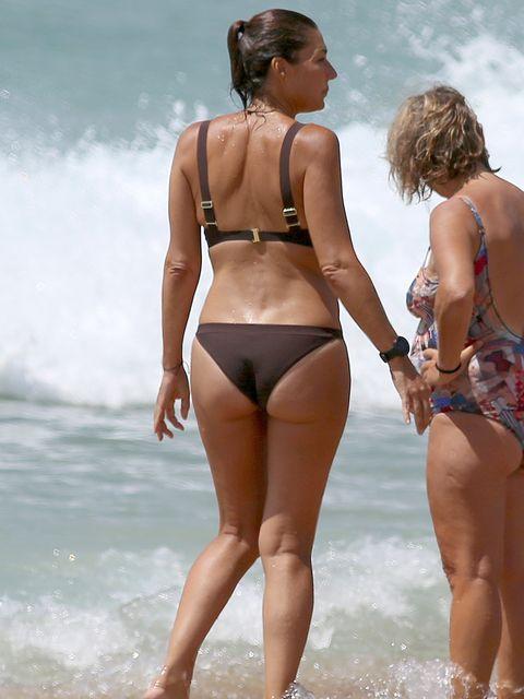 Bikini, Undergarment, Clothing, Swimwear, Vacation, Beach, Summer, Fun, Leg, Blond,