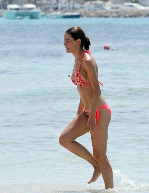 Clothing, Fun, Human body, Swimwear, Brassiere, Summer, Bikini, Swimsuit top, Waist, Beach,