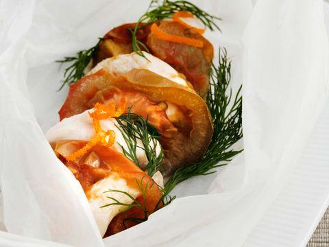 Food, Dish, Cuisine, Ingredient, Smoked salmon, Garnish, Produce, À la carte food, Filo, Recipe,