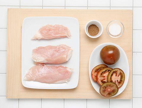Food, Dish, Cuisine, Chicken breast, Ingredient, Animal fat, Veal, Chicken meat, Chicken thighs, Pork loin,