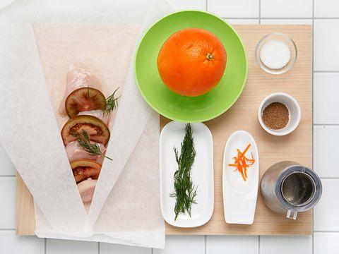 Food, Dish, Ingredient, Cuisine, Vegetarian food, Plate, Breakfast, Produce, Cutting board, Dishware,