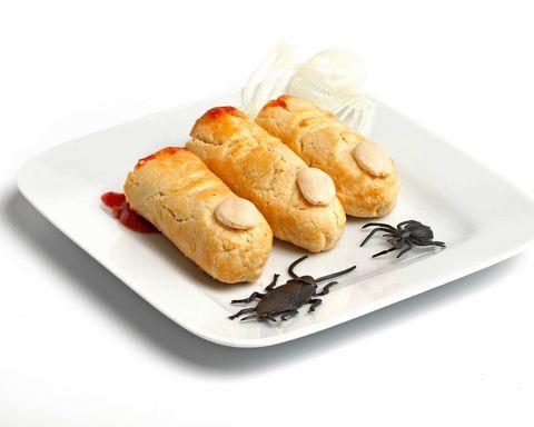 Food, Cuisine, Finger food, Baked goods, Ingredient, Dish, Plate, Recipe, Snack, Serveware,