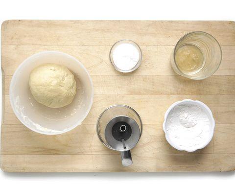 Dishware, Serveware, Ingredient, Kitchen utensil, Circle, Cuisine, Dish, Dairy, Mixing bowl, Silver,