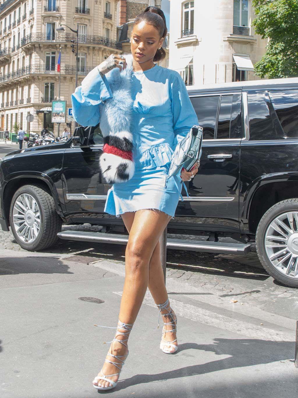 El Tarde De Compras Aparatoso RihannaPara Modelito Una BstrCxoQhd