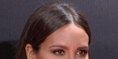 Nose, Lip, Cheek, Smile, Earrings, Hairstyle, Skin, Chin, Forehead, Eyebrow,