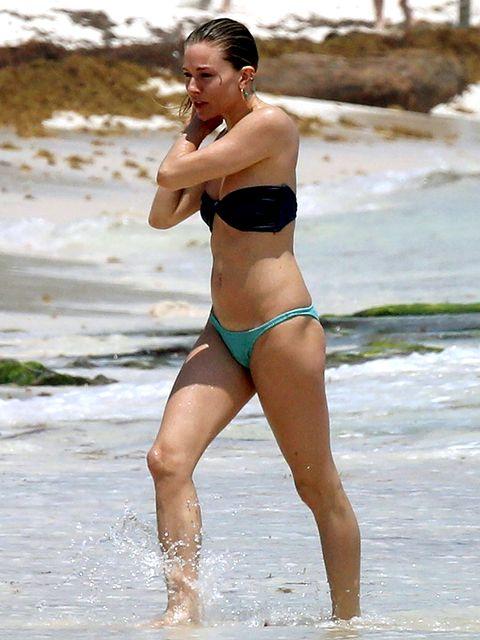 Bikini, Undergarment, Clothing, Swimwear, Beauty, Thigh, Vacation, Muscle, Summer, Leg,