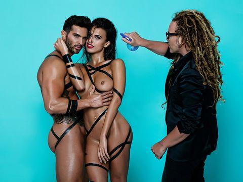 Clothing, Undergarment, Bikini, Fun, Muscle, Lingerie, Model, Thigh, Photography, Photo shoot,