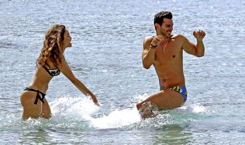 People on beach, Fun, Vacation, Bikini, Water, Swimwear, Summer, Leisure, Recreation, Photography,