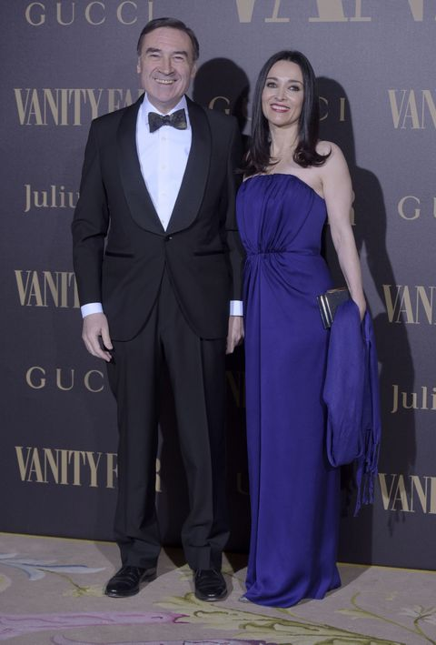 Suit, Formal wear, Cobalt blue, Clothing, Tuxedo, Fashion, Dress, Event, Electric blue, Shoulder,