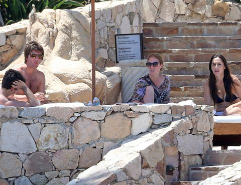 Eyewear, Vision care, Tourism, Sunglasses, Summer, Wall, Vacation, Temple, Goggles, Stone wall,