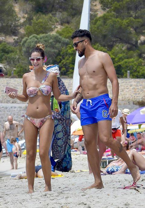 People on beach, Barechested, Vacation, Undergarment, Fun, Spring break, Bikini, Beach, Summer, Swimwear,