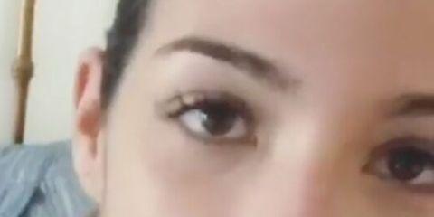 Face, Eyebrow, Hair, Lip, Nose, Forehead, Cheek, Skin, Eye, Chin,