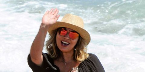 Clothing, Eyewear, Glasses, Hat, Mouth, Sunglasses, Happy, Fashion accessory, Summer, Facial expression,