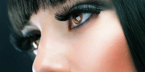 Lip, Hairstyle, Skin, Eyelash, Forehead, Eyebrow, Iris, Organ, Black hair, Eye shadow,