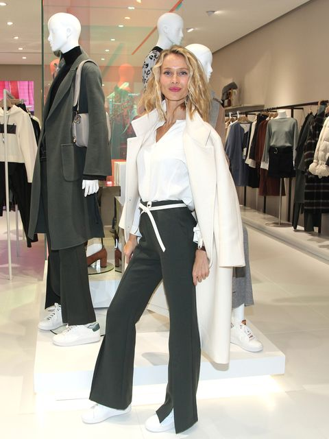 Clothing, White, Fashion, Street fashion, Suit, Formal wear, Outerwear, Fashion design, Haute couture, Trousers,