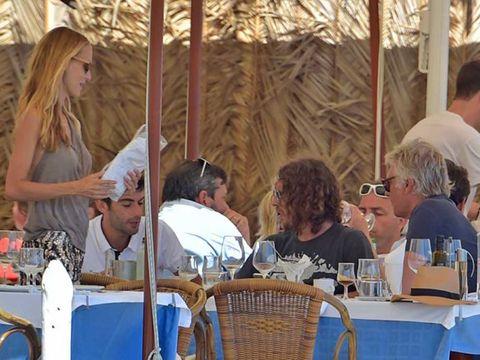 Leisure, Summer, Drinkware, Drink, Wicker, Wine glass, Outdoor table, Outdoor furniture,