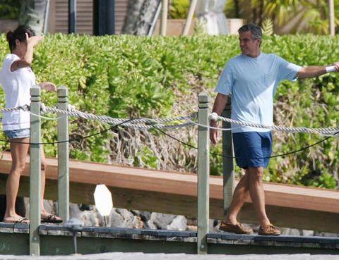Human leg, People in nature, Shorts, Sunglasses, Bermuda shorts, Foot, Slipper, Calf, Trunks, Sandal,