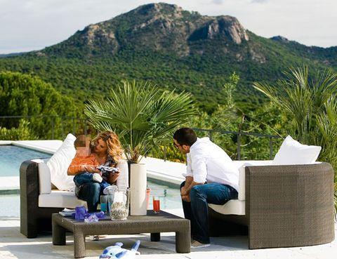 Human, Mountainous landforms, Comfort, Leisure, Hill, Outdoor furniture, Highland, Sitting, Mountain, Mountain range,