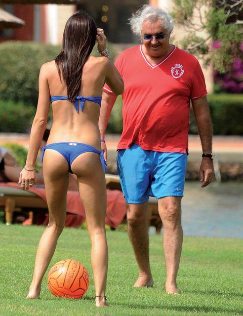 Ball, Sports equipment, Human leg, Team sport, Ball game, Brassiere, Football, Sunglasses, Ball, Playing sports,