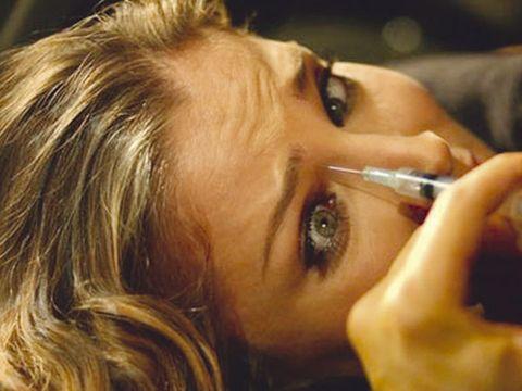 Lip, Cheek, Eyebrow, Eyelash, Organ, Beauty, Blond, Eye shadow, Personal grooming, Beauty salon,
