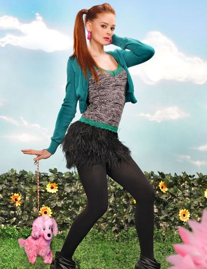 Toy, Thigh, Waist, Tights, Long hair, Stocking, Fashion model, Stuffed toy, Photo shoot, Costume,