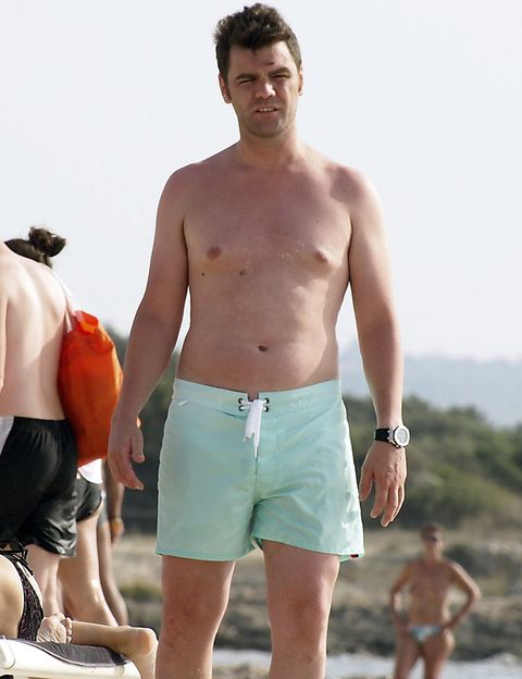 Standing, board short, Summer, Chest, Barechested, People in nature, Muscle, Shorts, Trunk, Trunks,