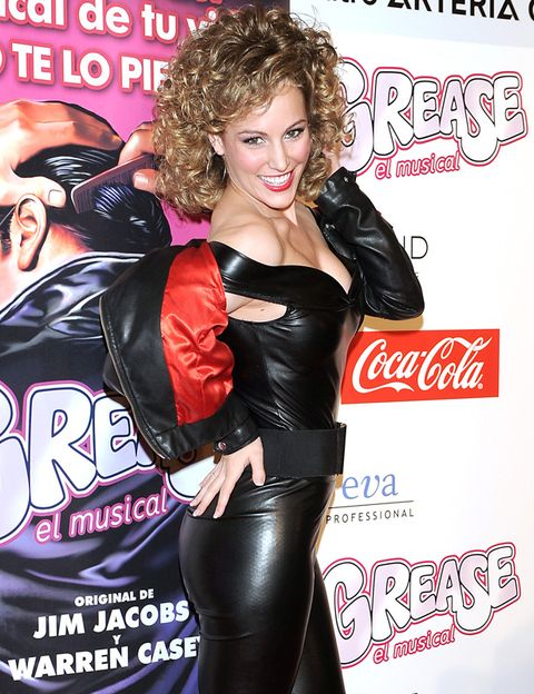 Mouth, Latex, Poster, Latex clothing, Costume, Advertising, Tights, Leather, Makeover, Coca-cola,