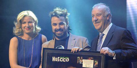 Face, Dress, Facial hair, Beard, Moustache, Award ceremony,