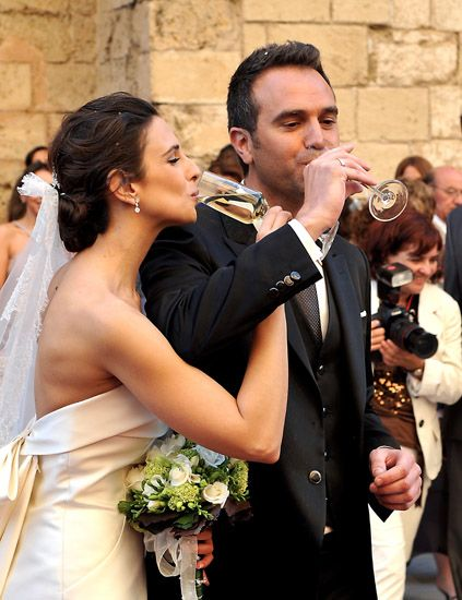 nuria fergó y toni cantó se casan rodeados de famosos