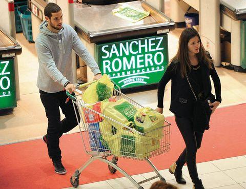 Shopping cart, Cart, Logo, Service, Shopping, Street fashion, Retail, Trade, Business, Selling,