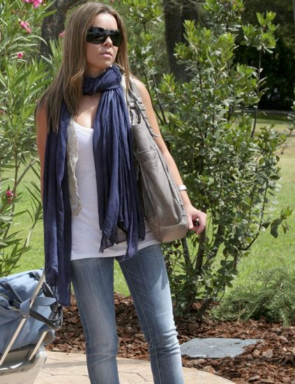 Clothing, Denim, Bag, Textile, Outerwear, Sunglasses, Style, Street fashion, Fashion accessory, Luggage and bags,