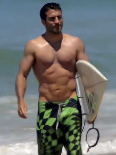 Human, Standing, Chest, Barechested, Facial hair, Elbow, Muscle, People in nature, board short, Trunk,