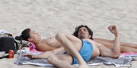 Leg, Fun, Human body, Human leg, Barefoot, Toe, Sand, Summer, Leisure, People in nature,