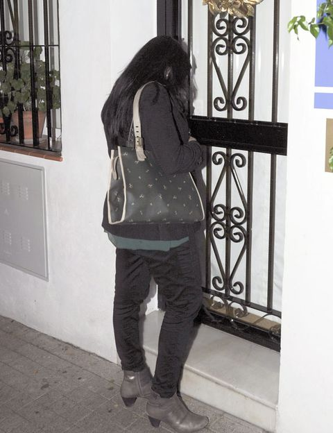 Outerwear, Bag, Style, Street fashion, Black, Luggage and bags, Iron, Jacket, Metal, Visual arts,