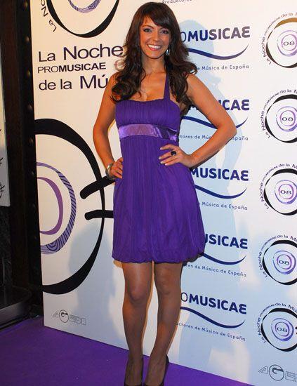 Dress, Shoulder, Flooring, Style, One-piece garment, Purple, Logo, Fashion, Beauty, Cocktail dress,