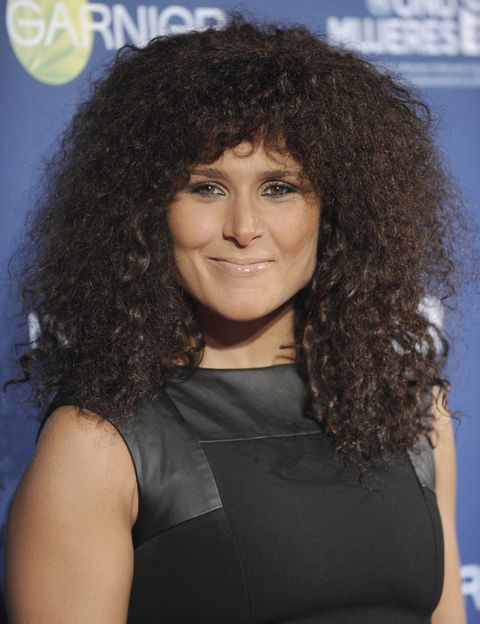 Hair, Head, Jheri curl, Brown, Hairstyle, Forehead, Eyebrow, Ringlet, Black hair, Style,
