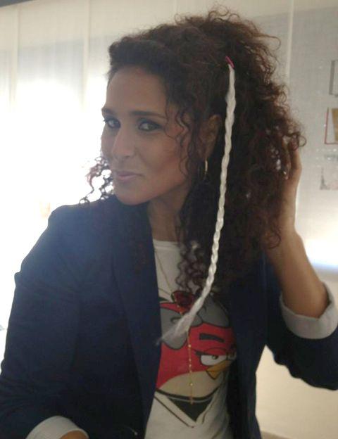 Hairstyle, Black hair, Style, Fashion, Cool, Long hair, Blazer, Dreadlocks, Artificial hair integrations, Chest,