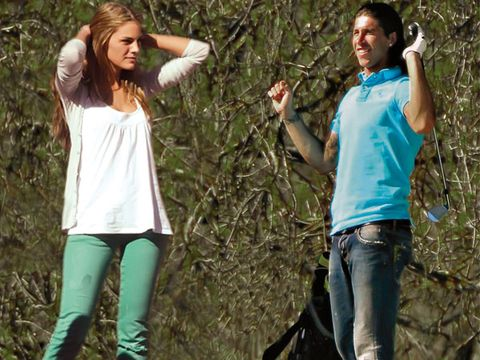 People in nature, Denim, Trunk, Jungle, Active pants,