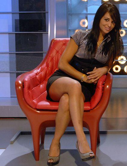 Leg, Human leg, Red, Dress, Sitting, High heels, Thigh, Beauty, Knee, Foot,