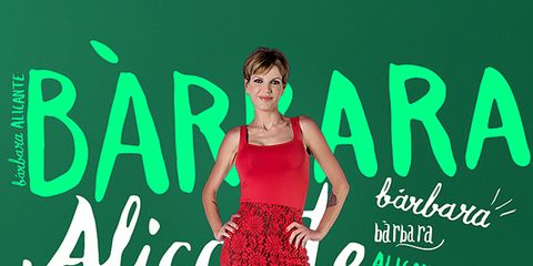 Green, Dress, Font, One-piece garment, Logo, Waist, Day dress, Cocktail dress, Advertising, Poster,