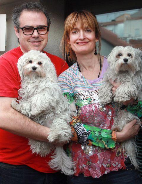 Human, Dog breed, Smile, Dog, Vertebrate, Carnivore, Mammal, Interaction, Toy dog, Companion dog,