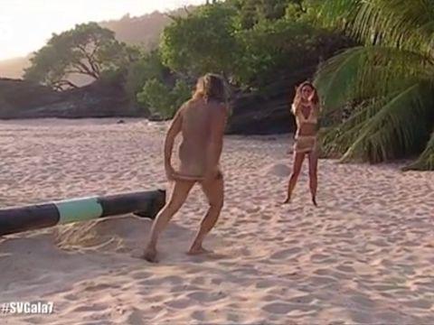 Fun, Vacation, Beach, Blond, Leisure, Summer, Tree, Screenshot, Bikini, Sand,