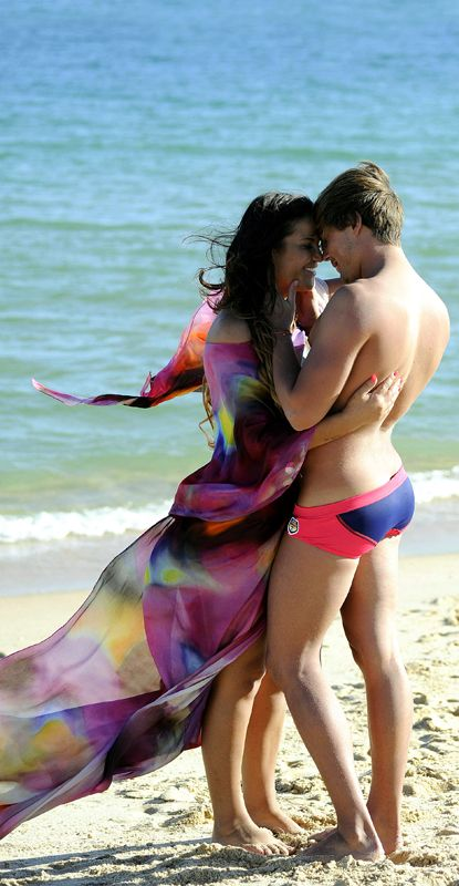 Fun, People on beach, Human body, Brassiere, Summer, People in nature, Interaction, Holiday, Beach, Vacation,