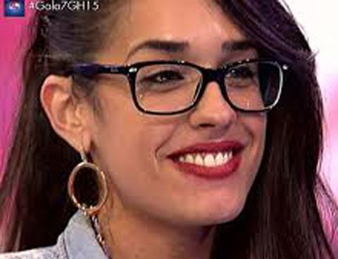 Eyewear, Glasses, Nose, Vision care, Lip, Cheek, Earrings, Hairstyle, Skin, Chin,